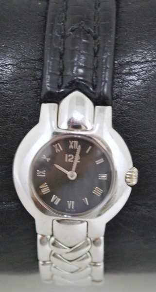 4: LADYS VERSACE S/S WATCH