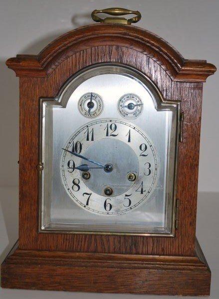 14: JUNGHANS 8 DAY MANTLE CLOCK