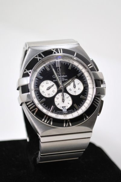 20A: MENS S/S OMEGA CONSTELLATION CO-AXIAL