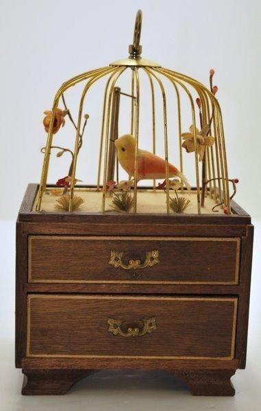 19: BIRDCAGE MUSICAL JEWELRY BOX