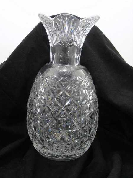 22 Waterford Cut Crystal Pineapple Vase