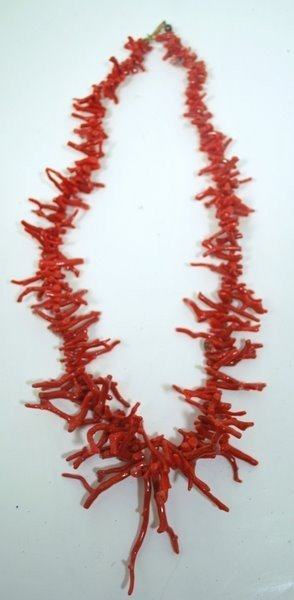 3: CORAL NECKLACE