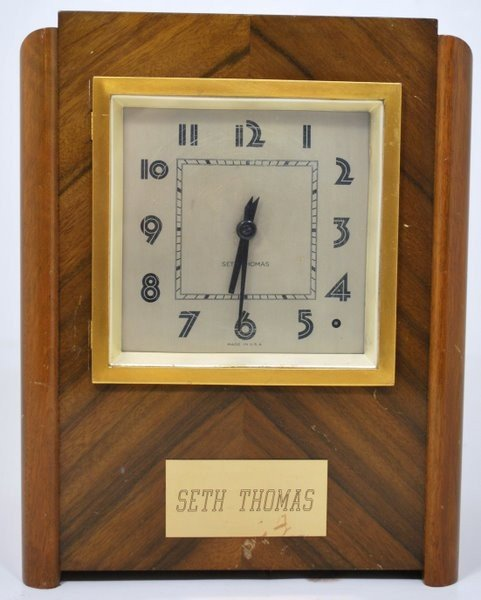 10: SETH THOMAS MANTLE CLOCK WESTMINSTER CHIME