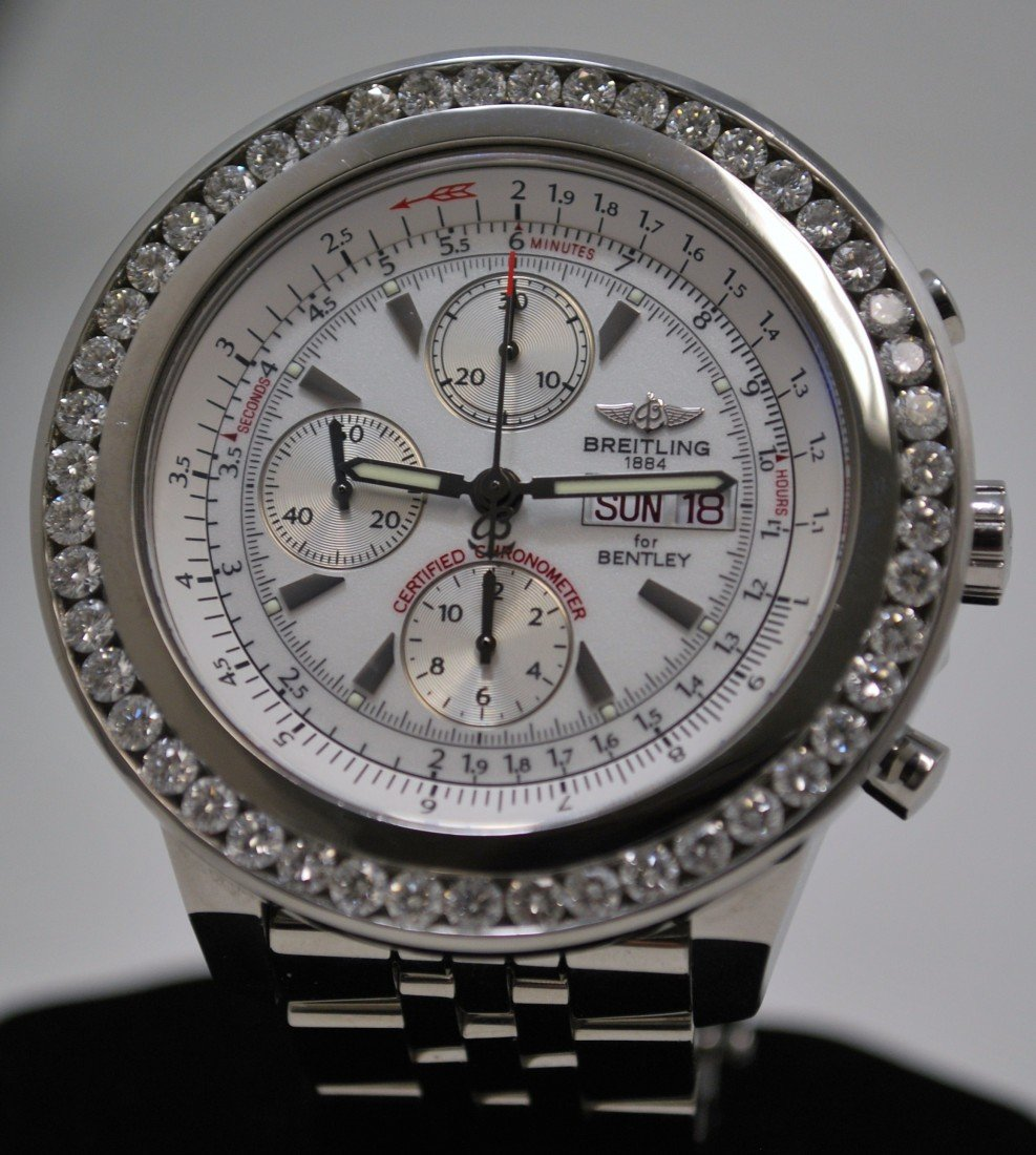 10L: S/S BREITLING FOR BENTLEY GT CHRONO