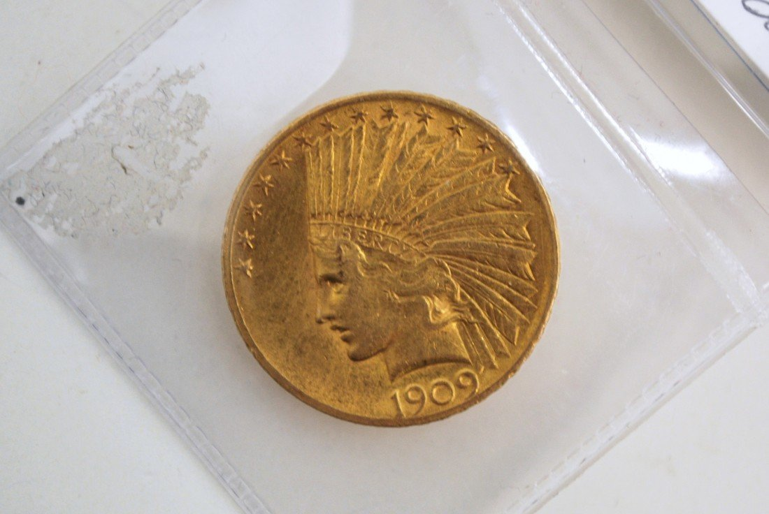 10B: $10 INDIAN GOLD COIN