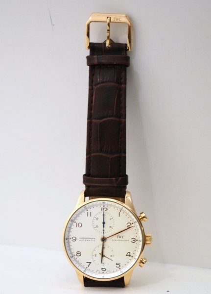 12: 18KT P.G. IWC PORTUGESE