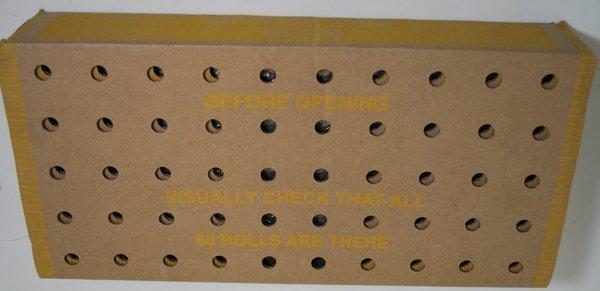100: UNOPENED BOX OF KENNEDY HALF DOLLARS