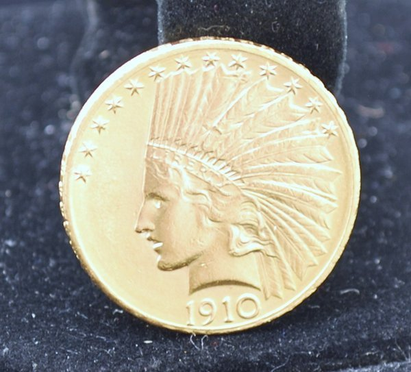 18: $10 US GOLD INDIAN COIN