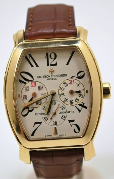 54: 18KT Y.G. VACHERON&CONSTANTIN ROYAL EAGLE