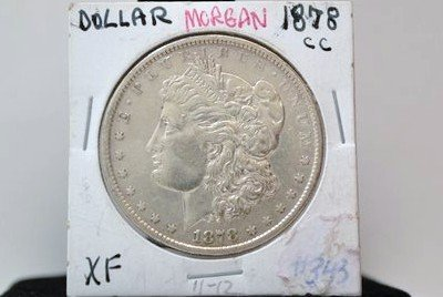 19: 1878 MORGAN SILVER DOLLAR