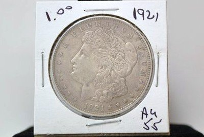 20A: 1921 MORGAN SILVER DOLLAR