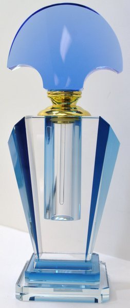 10A: ART DECO PERFUME BOTTLE