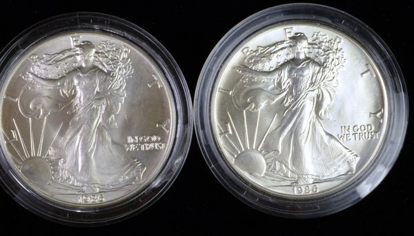 2: LOT OF 2 SILVER LIBERTY DOLLARS