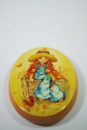 FEDOSKINO RUSSIAN ART LACQUERBOX