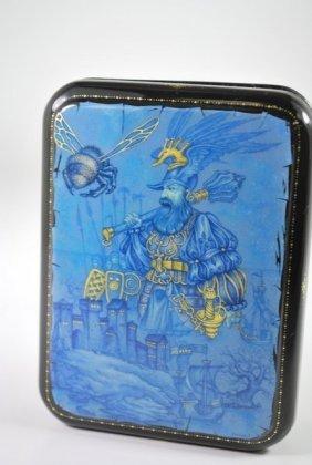 FEDOSKINO RUSSIAN ART LACQUER BOX