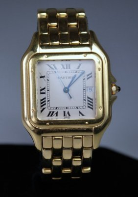 18KT CARTIER PANTHER LARGE SIZE