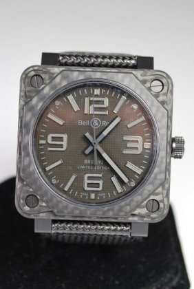 BELL & ROSS LIMITED EDITION PHANTOM AUTOMATIC NEW