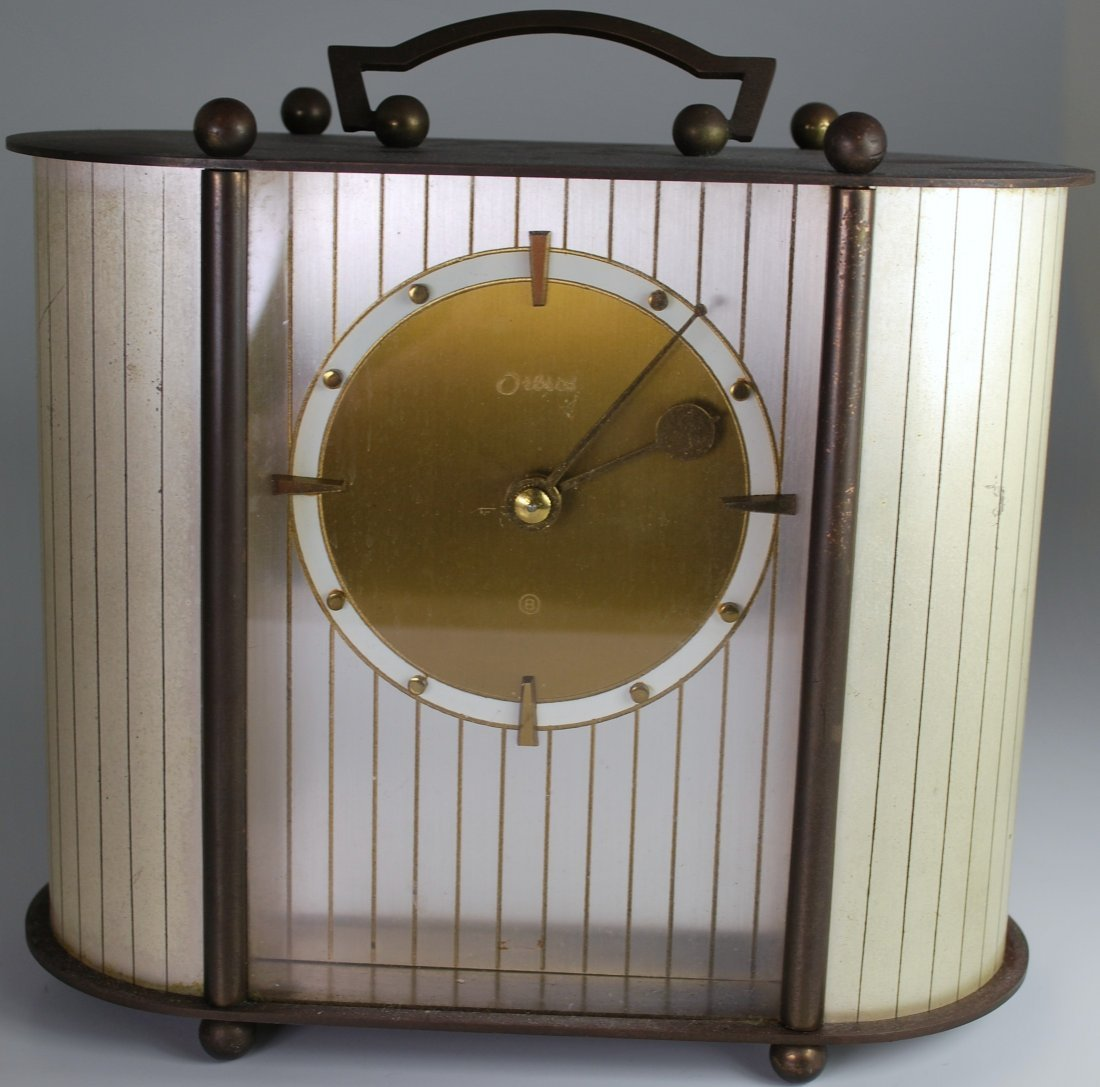 ORBROS 8 DAY MANTLE CLOCK