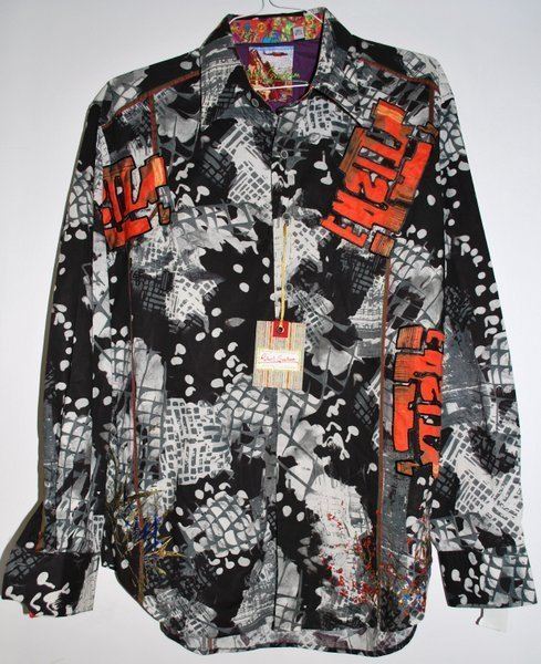 MENS ROBERT GRAHAM SHIRT NWT