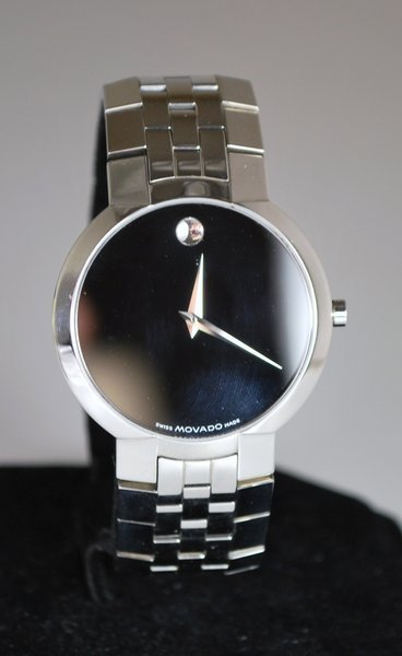 S/S MOVADO MUSEUM WATCH