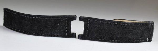 CUSTOM CARTIER BLACK 38MM SUEDE PASHA STRAP