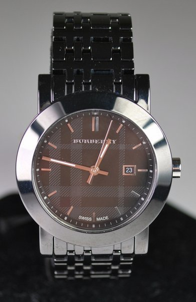 LADIES IP PLATED BURBERRY WATCH NEW