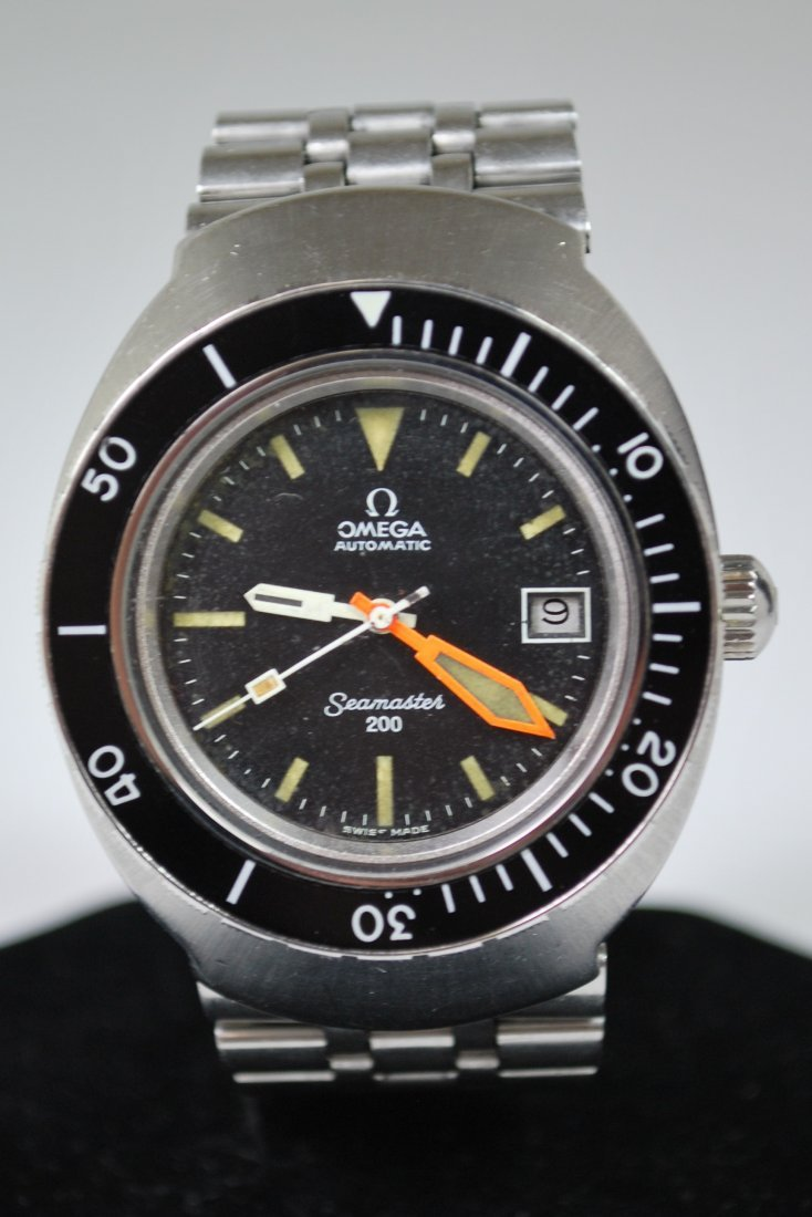 MENS S/S OMEGA 1970'S DIVE WATCH