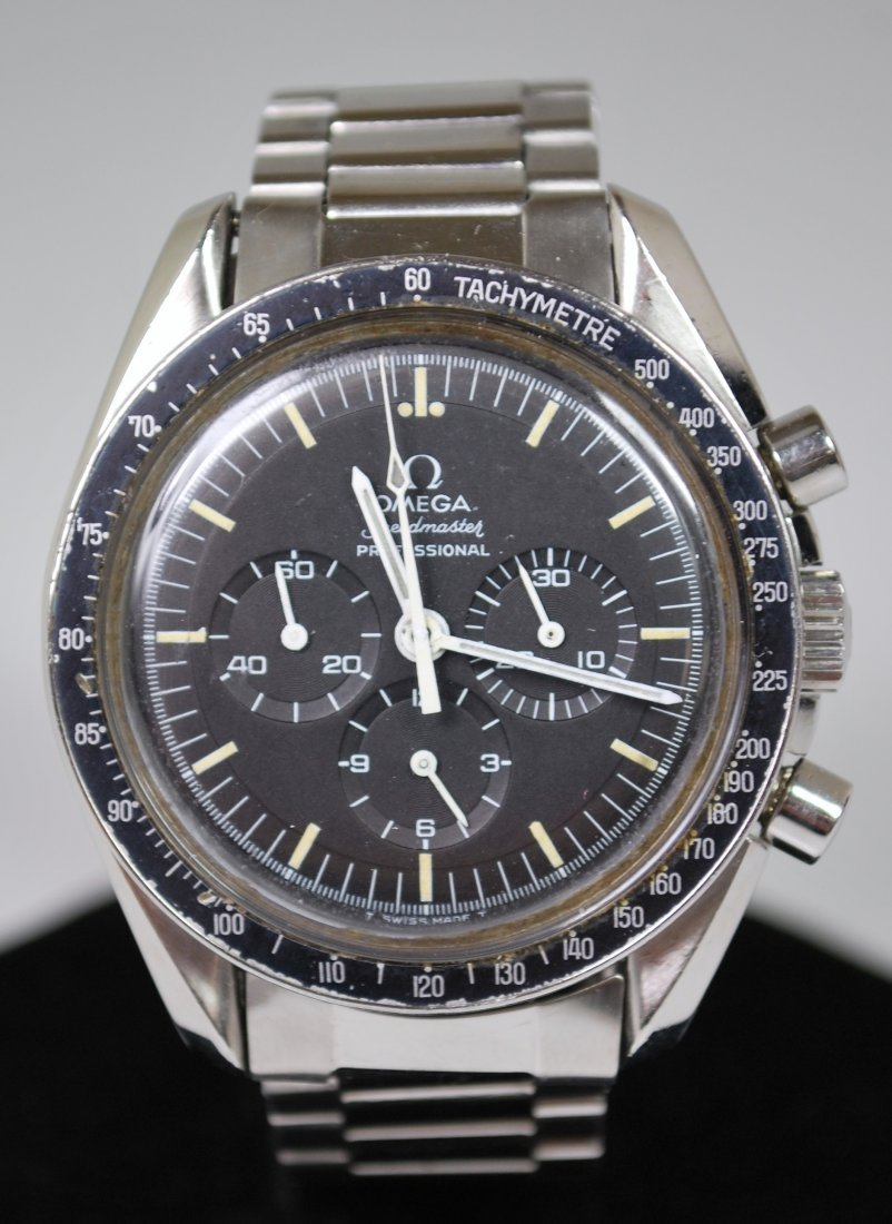 MENS S/S OMEGA MAN ON THE MOON 1969
