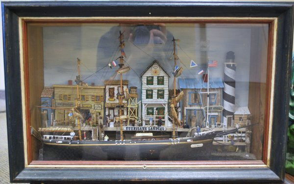 TURN OF CENTRY SHIPS SHADOWBOX