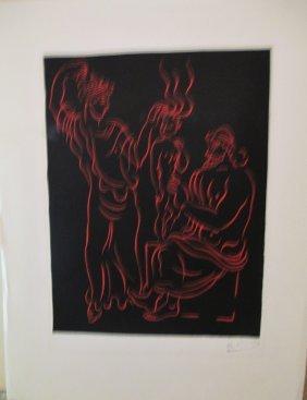 """Andre Derain Title """"l'enfant"""" French (1880-1954)"""