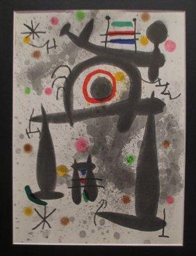 Alexander Calder Abstract Color Print