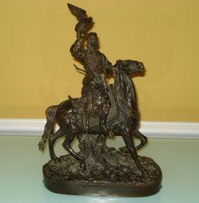 Evgeny Naps Russian Bronze Sculpture