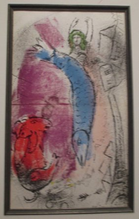 After Marc Chagall Color Print