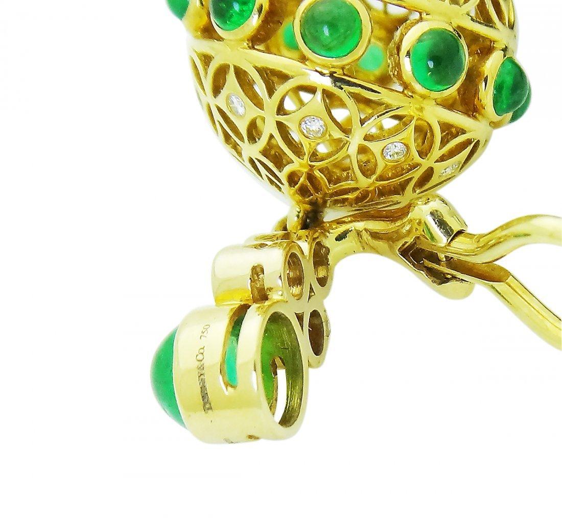Tiffany & Co. Tassel Clip On Earrings with Black Onyx - 5