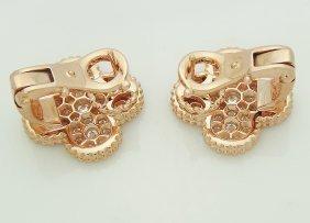 Van Cleef Arpels 18k Magic Alhambra Diamond Earrings - 2