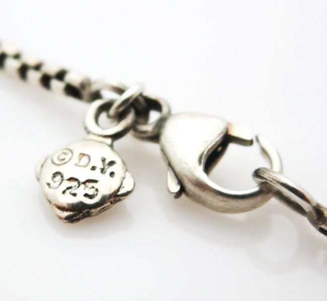 David Yurman Petite Albion Pendant Necklace Onyx - 3