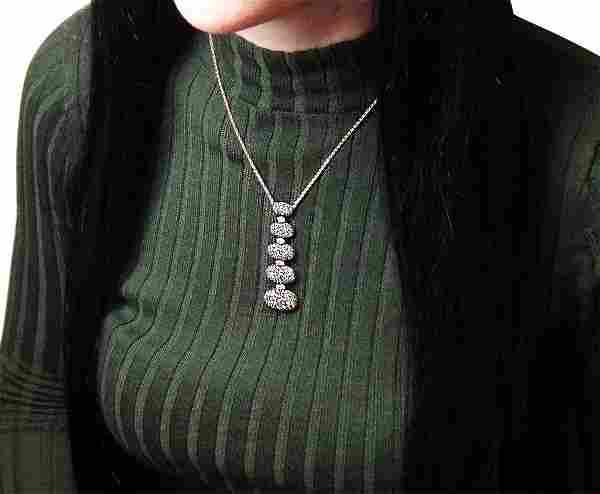 De Grisogono 18K Fancy Brown Diamond Pendant Necklace