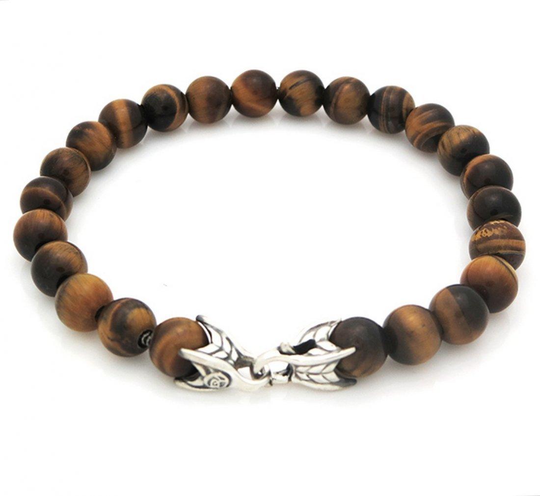 David Yurman Spiritual Beads Bracelet with Tiger's Eye