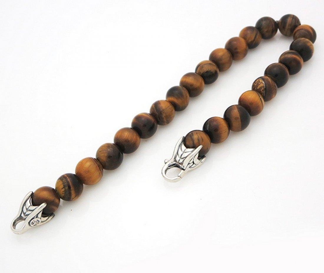 David Yurman Spiritual Beads Bracelet with Tiger's Eye - 7