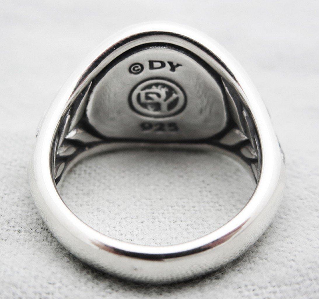 David Yurman Sterling Silver Griffin Dragon Ring size - 2