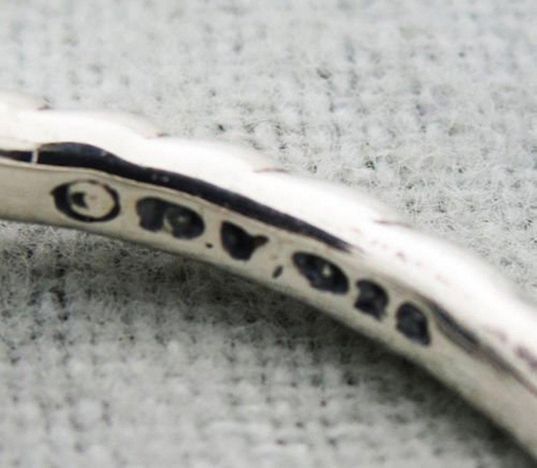 David Yurman Sterling Silver Starburst Ring & Diamonds - 4