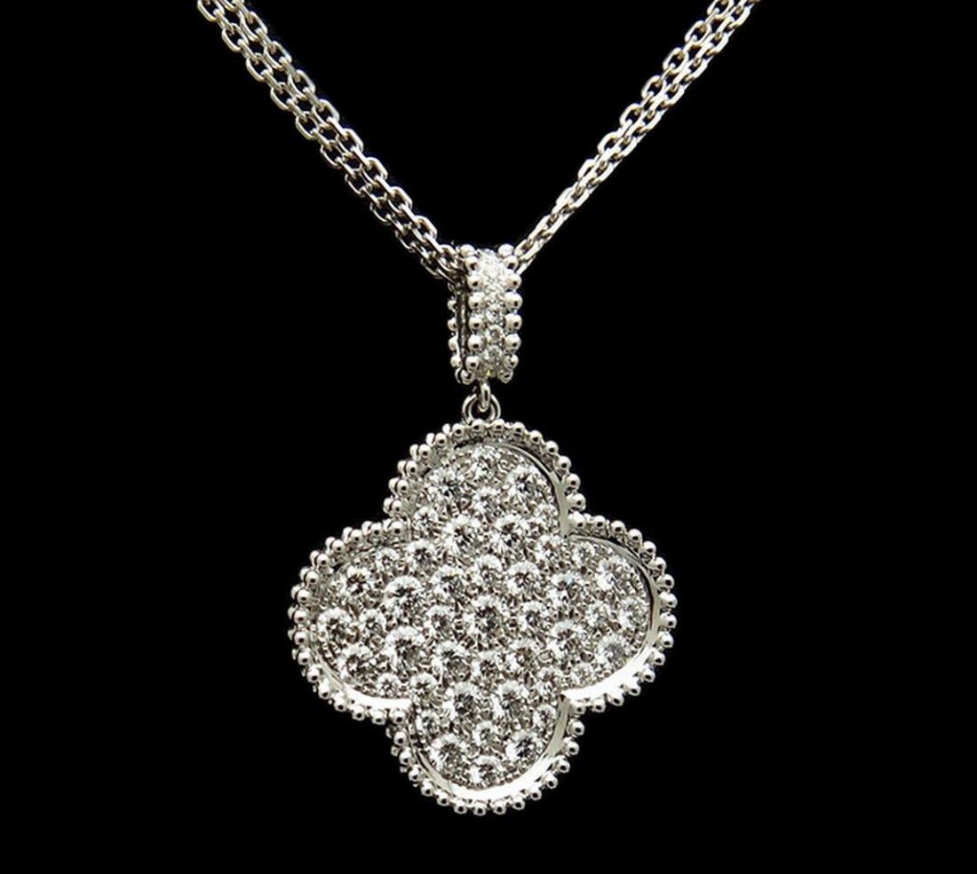 Van Cleef & Arpels Magic 18K Alhambra Long Necklace