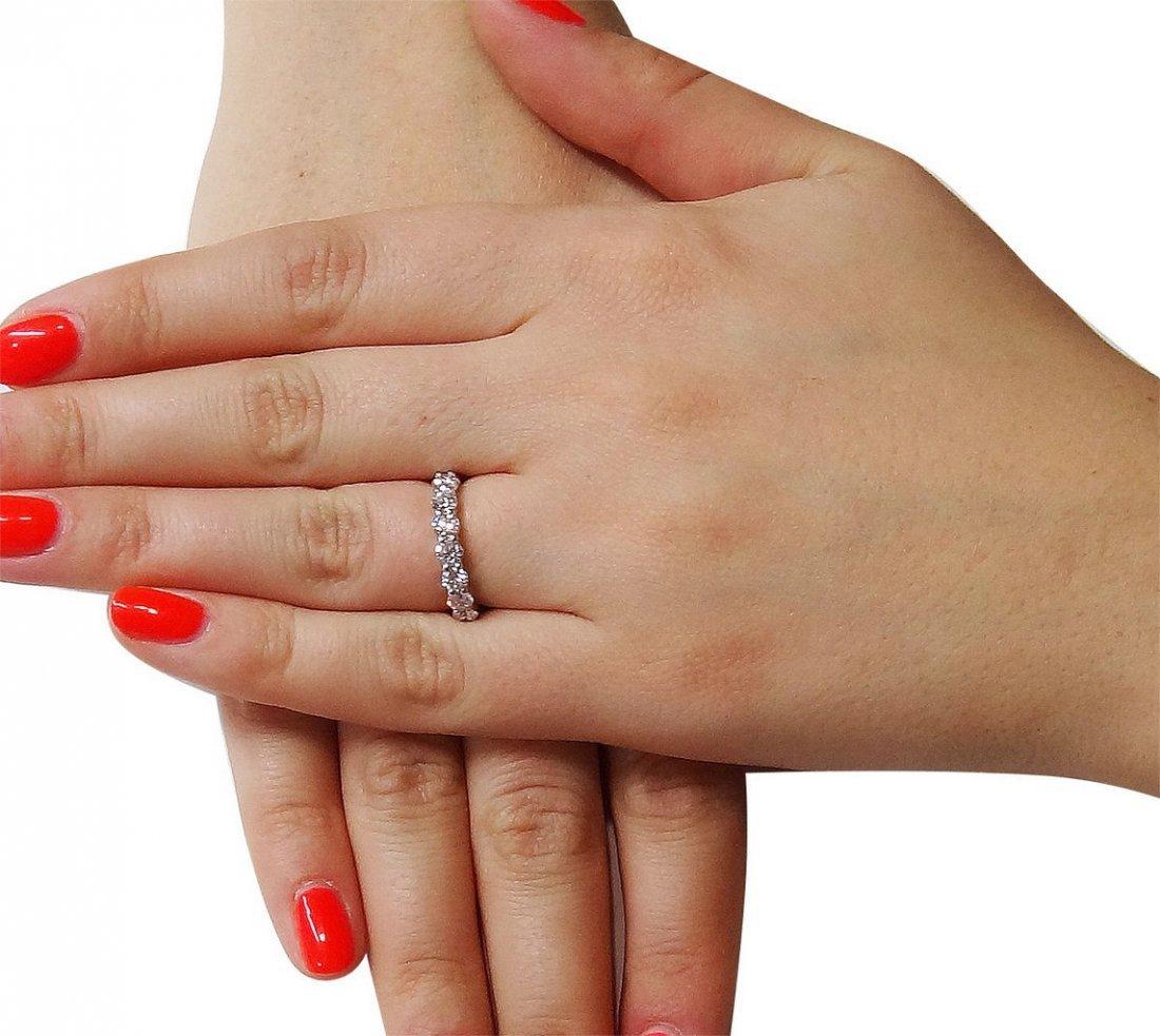 Tiffany & Co Round Brilliant Diamond Wedding Band Ring - 6