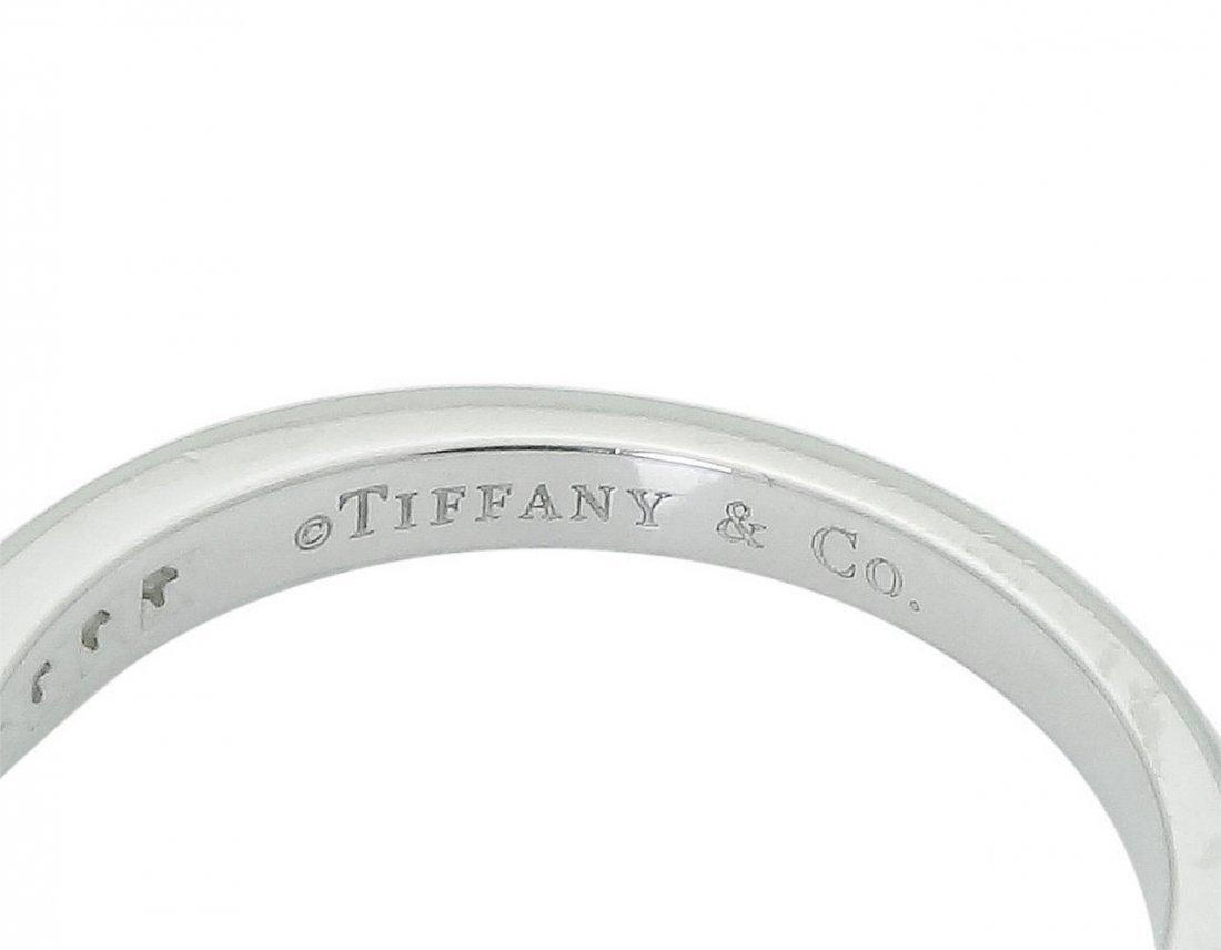 Tiffany & Co Round Brilliant Diamond Wedding Band Ring - 7