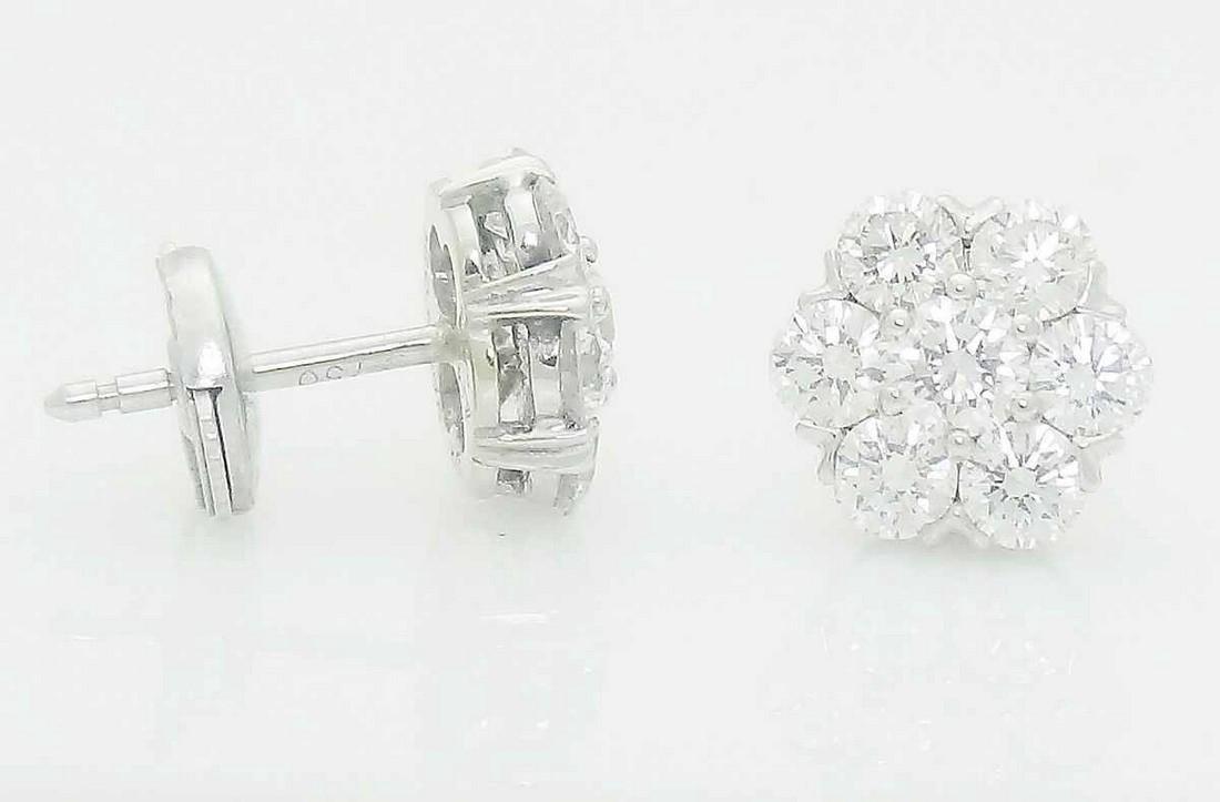 Van Cleef & Arpels 18k Small Fleurette Earrings - 2