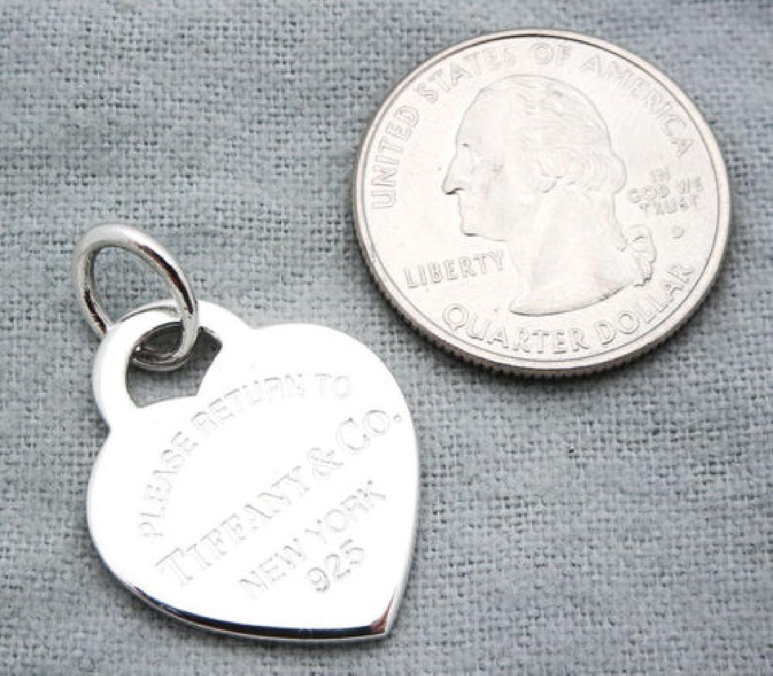 Return to Tiffany & Co Heart Tag Medium Pendant Charm - 3