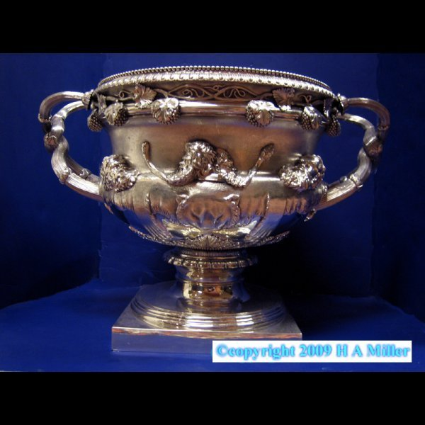 Sterling Silver Warwick Vase George III London