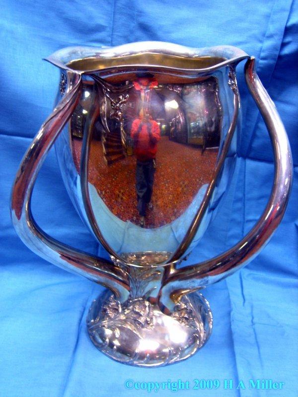 17: Sterling Silver American Art Nouveau Centerpiece