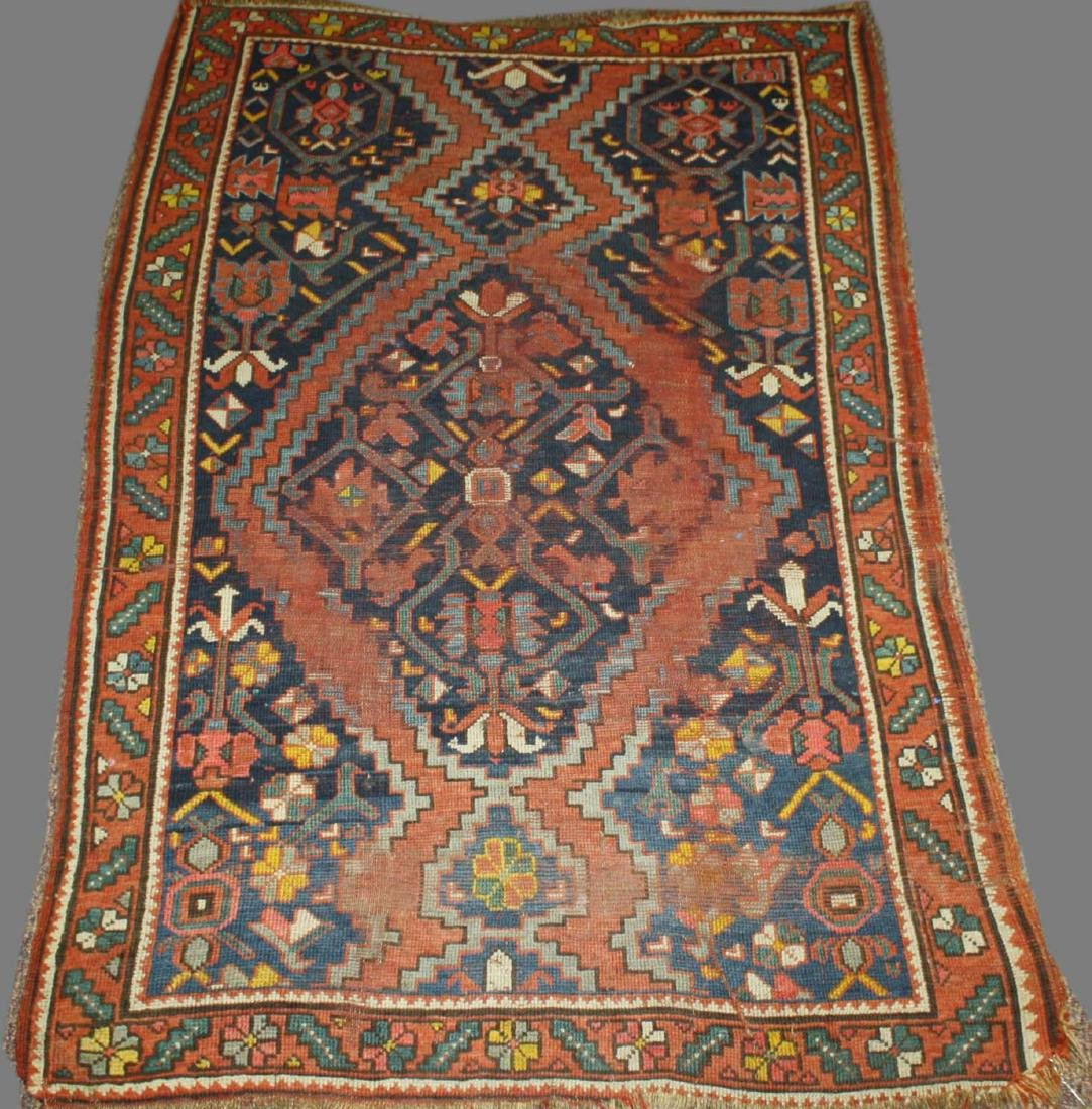 19th c North Persian tribal area rug