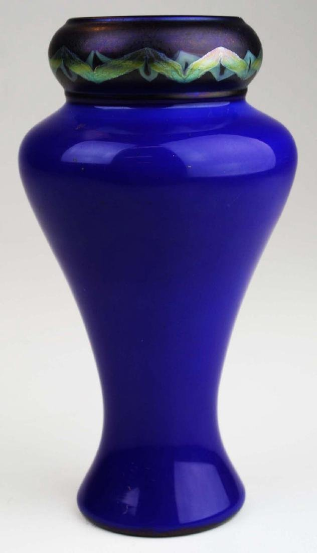 rare Tiffany Tel-el-amarna Favrile glass vase